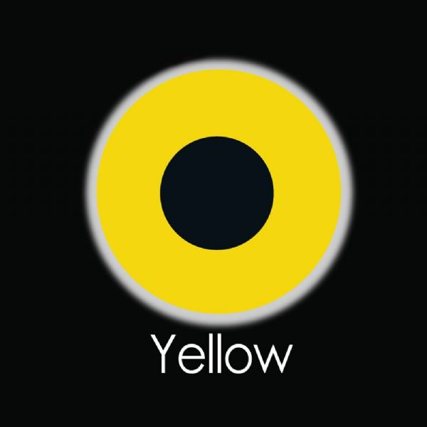 Yellow Contact Lens